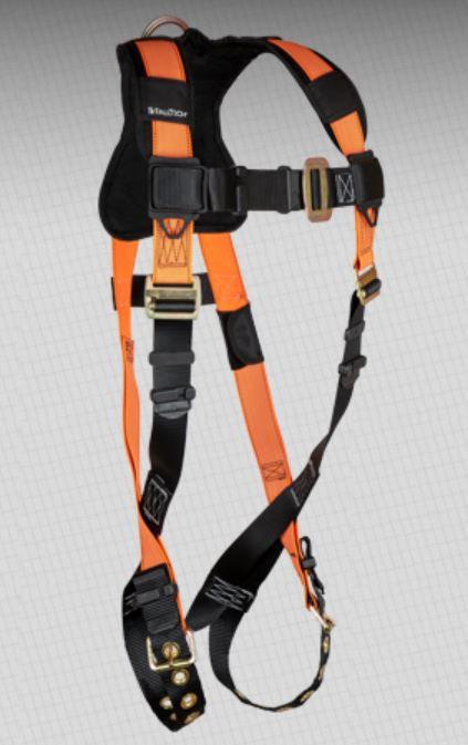 FallTech Tradesman+ Hi-Vis Harness