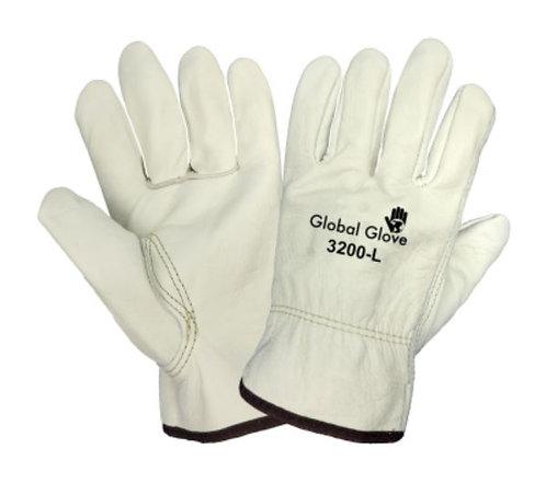 Global Glove Premium Grain Cowhide Leather Glove; 3200