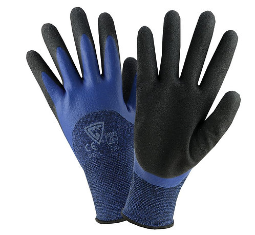 West Chester 3/4 Foam Latex Dipped Gloves; 713BLDD