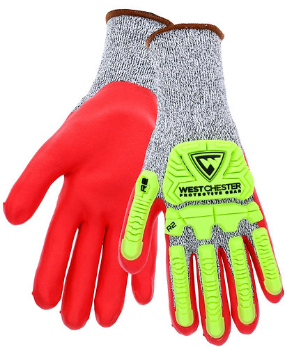 West Chester R2 FLX Protection Gloves; 713SNTPRG