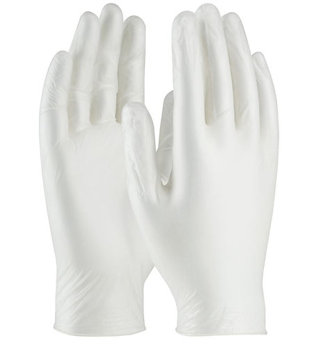 West Chester PosiShield 4mm Disposable Vinyl Powdered Glove; 2700