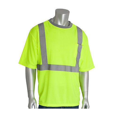 PIP ANSI Type R Class 2 Short Sleeve T-Shirt; 312-1200