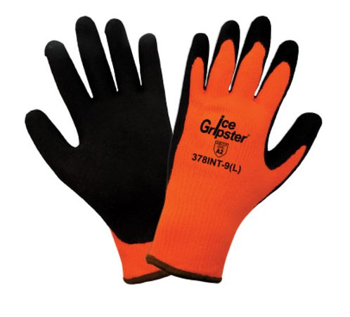 Global Glove Ice Gripster - High-Visibility Low Temp Glove; 378INT