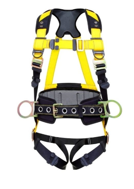 Guardian Series 3 Harness w/ Waist Pad; Quick-Connect Buckles