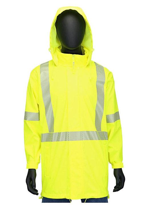 PIP Class 3 Waterproof Breathable Rain Jacket; 4541J