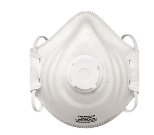 Gateway Peakfit N95 Respirator; Unvented