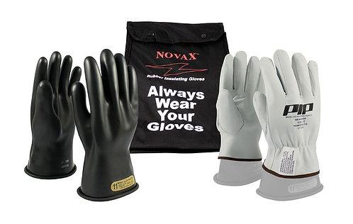 PIP Novax Class 00 Rubber Insulated Glove Kit; 150-SK-00
