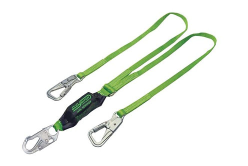 Miller BackBiter Tie-Back Double-Leg 6 ft Lanyard