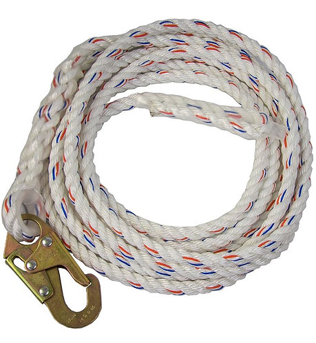 Guardian Polydac™ Rope with Snap Hook End