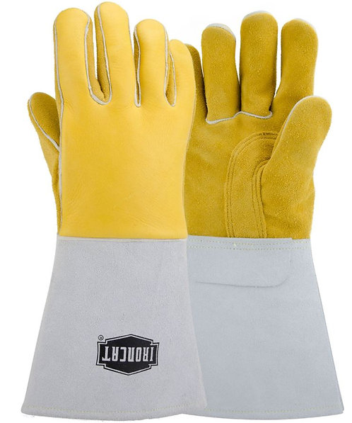Ironcat® Top Grain Elkskin Leather Welder's Glove; 9060