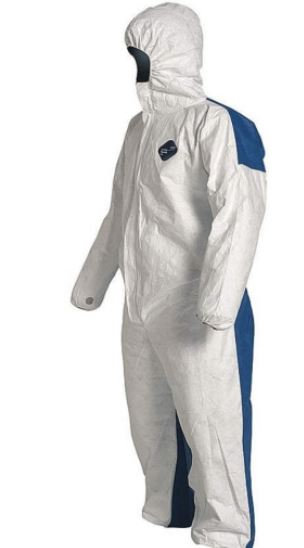 Dupont Tyvek Dual Coverall w/ Hood