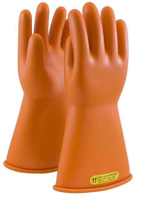 PIP Novax Class 2 Rubber Insulated Glove; 147-2-14