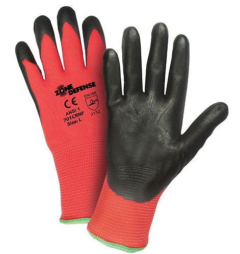 PIP Zone Defense Nylon, Nitrile Coated Glove; 701CRNF