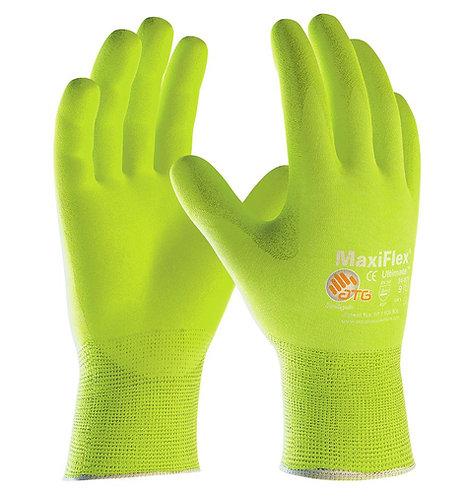 PIP MaxiFlex Ultimate HI-VIS Glove; 34-874FY