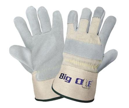 Global Glove Big Ole - Premium Split Cowhide Safety Cuff Gloves; 2100