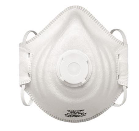 Gateway Peakfit N95 Respirator; Vented