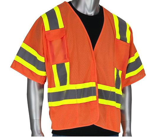 PIP Class 3 Two-Tone Breakaway Vest; 303-5PMTT