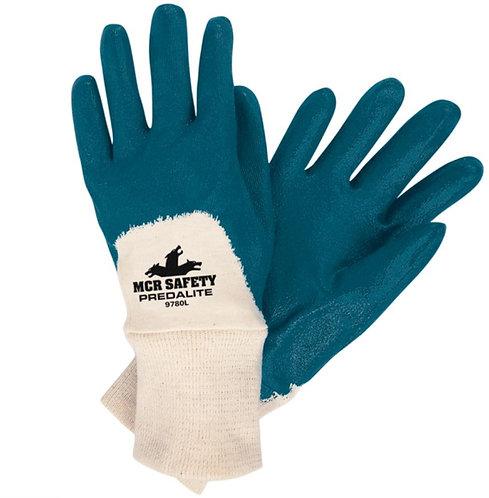 MCR Safety Predalite, Light Nitrile Coated Palm Glove; 9780