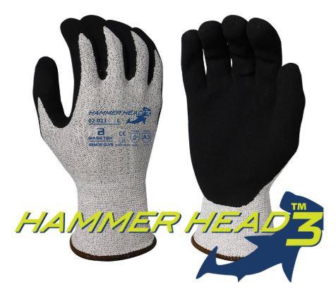 Armor Guys Basetek® Hammerhead 3 HCT MicroFoam Nitrile Glove; 02-023