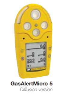 Honeywell BW GasAlertMicro 5 Series Gas Detector; M5