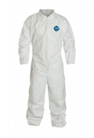 Dupont Tyvek Coverall w/ Elastic Wrist & Ankle; TY125S