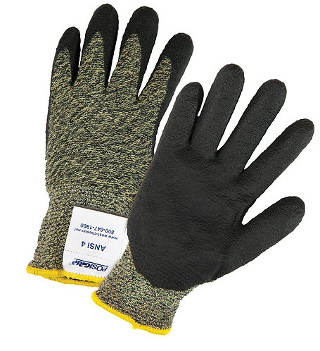 West Chester PosiGrip Aramid Blended Antimicrobial Nitrile Coated Glove; 710SANF