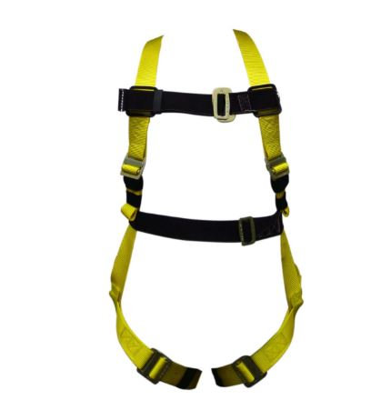 Miller® Standard Non-Stretch Harnesses; 650 Series