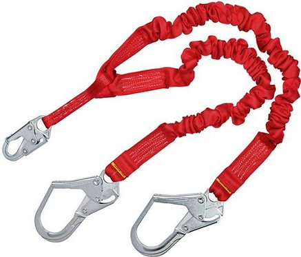 3M™ Protecta® Pro™ Stretch 100% Tie-Off 6ft Shock Absorbing Lanyard