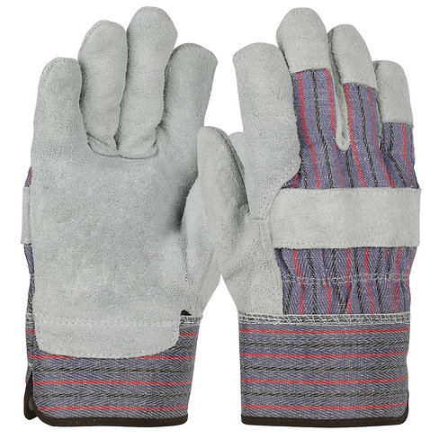 West Chester Split Leather w/ Safety Cuff Glove; 558