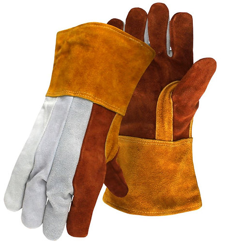 Boss® Split Cowhide Leather Welders Glove; 1JL0939K