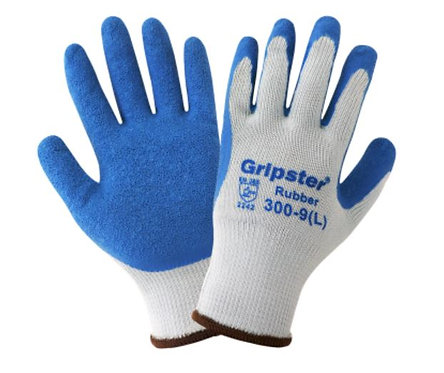 Global Glove Gripster - Etched-Finish Rubber Palm Gloves