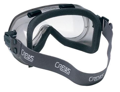 MCR 24 Series, Clear Anti-Fog Lens w/Foam Lining Goggles; 2410F