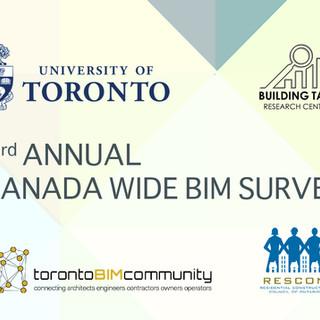 3rd Annual Canada Wide BIM Survey