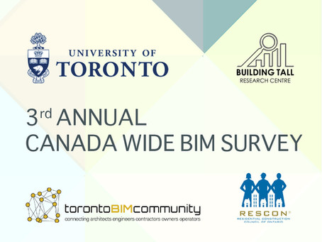 3rd Annual Canada Wide BIM Survey