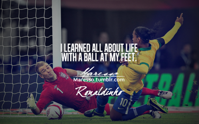 Ronaldinho.quote