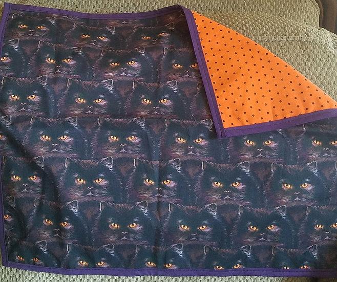 Halloween Cats Altar Tarot Cloth
