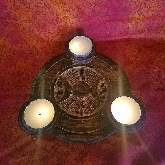 Goddess Tea Light/Orb Tile