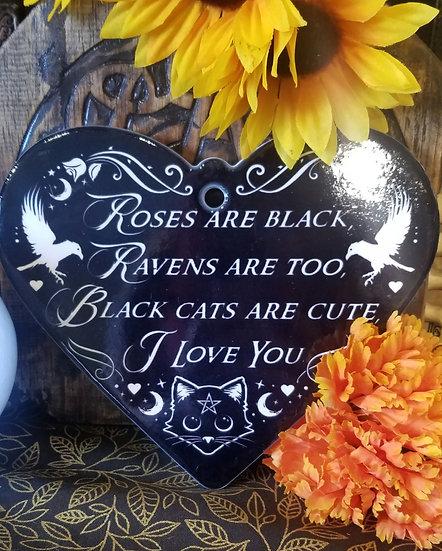 Black Cat Ceramic Trivet