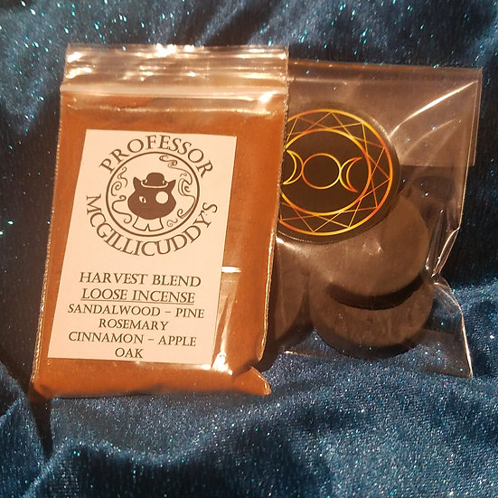 Fall Havest Incense/Coal Set.