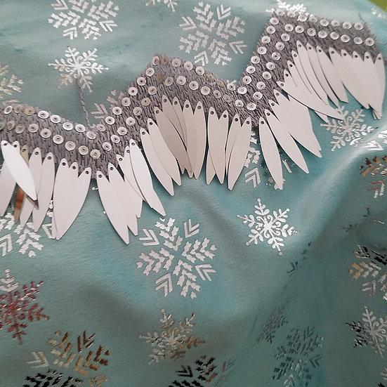 Nordic Ice Princess Cloak