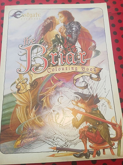 Briar Fantasy Coloring Book