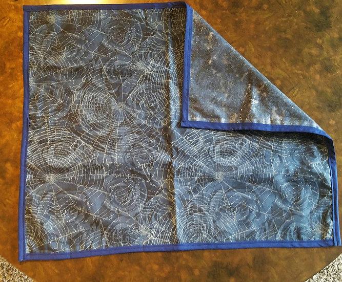 Midnight Spider Web Altar Cloth-Medium
