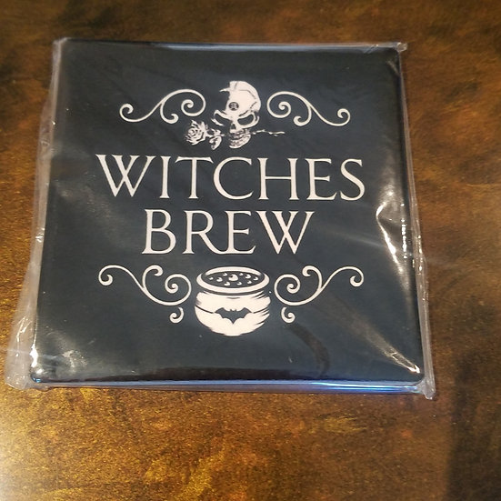 Witches Brew Coaster SINGLE