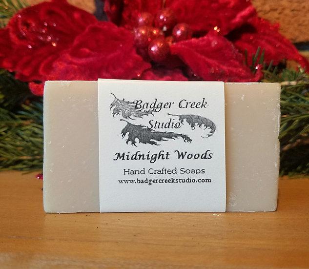 Midnight Woods Small Bar Soap