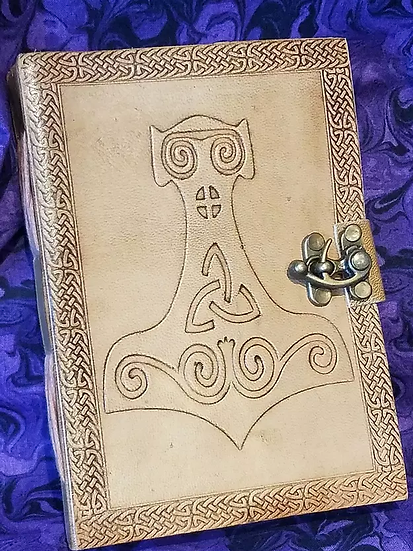 Thor's Hammer Leather Journal