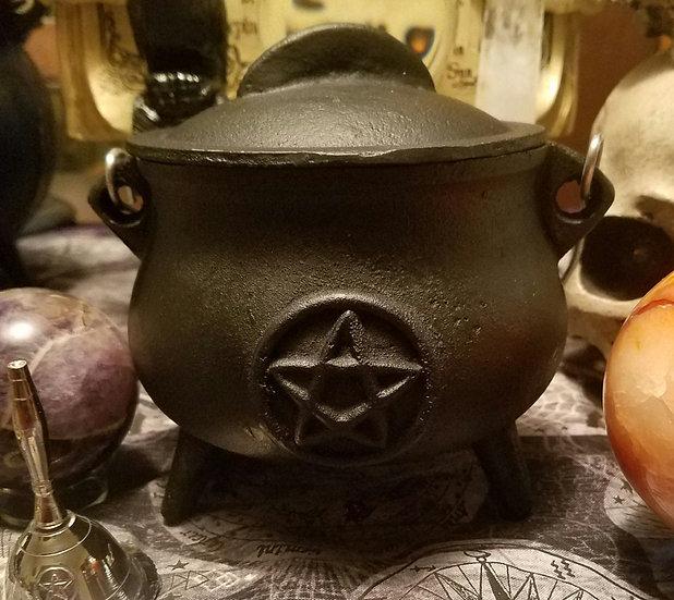 Medium Cast Iron Cauldron