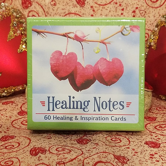 Healing Notes Inspiration Cards