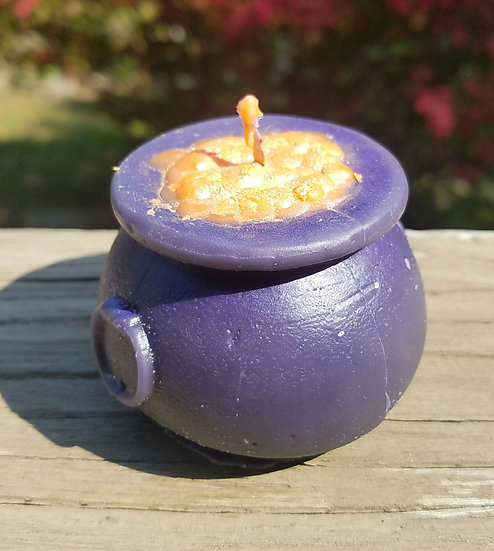 Midnight Purple Bubbling Cauldron Candle