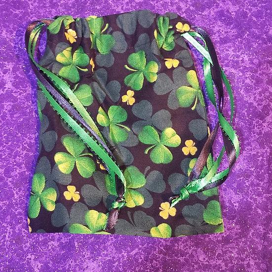 Lucky Clover Tarot Bag-unlined