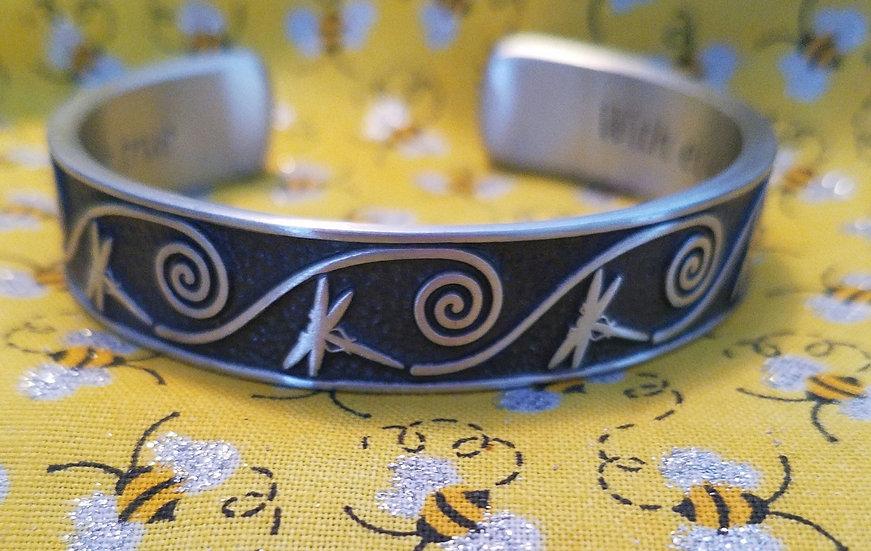 Dream/Opportunity Dragonfly Bracelet